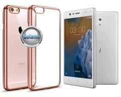 ReColor dėklas nugarėlė Nokia 3 telefonams rožinės spalvos