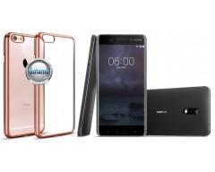 ReColor dėklas nugarėlė Nokia 6 telefonams rožinės spalvos