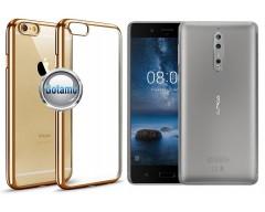 ReColor dėklas nugarėlė Nokia 8 telefonams aukso spalvos