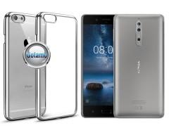 ReColor dėklas nugarėlė Nokia 8 telefonams sidabro spalvos