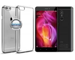 ReColor dėklas nugarėlė Xiaomi Redmi Note 4, Xiaomi Redmi Note 4X telefonams sidabro spalvos