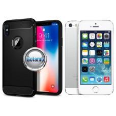 Siege dėklas nugarėlė Apple iPhone 5 5s SE mobiliesiems telefonams juodos spalvos Vilnius | Plungė | Telšiai