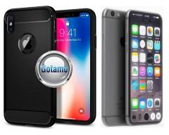 Siege dėklas nugarėlė Apple iPhone 7 8 SE (2020) mobiliesiems telefonams juodos spalvos