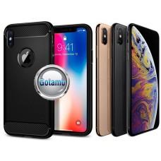 Siege dėklas nugarėlė Apple iPhone X Xs mobiliesiems telefonams juodos spalvos Kaunas | Klaipėda | Vilnius