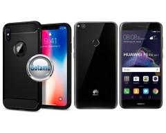 Siege dėklas nugarėlė Huawei P9 Lite (2017) mobiliesiems telefonams juodos spalvos