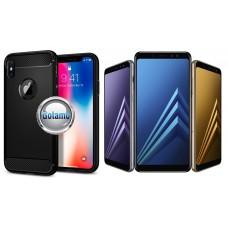 Siege dėklas nugarėlė Samsung Galaxy A8 (2018) mobiliesiems telefonams juodos spalvos Šiauliai   Vilnius   Klaipėda