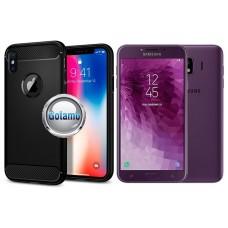 Siege dėklas nugarėlė Samsung Galaxy J4 (2018) mobiliesiems telefonams juodos spalvos Plungė | Palanga | Plungė