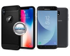 Siege dėklas nugarėlė Samsung Galaxy J5 (2017) mobiliesiems telefonams juodos spalvos