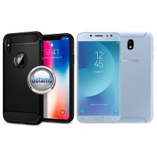 Siege dėklas nugarėlė Samsung Galaxy J7 (2017) J7 Pro mobiliesiems telefonams juodos spalvos Plungė | Kaunas | Plungė