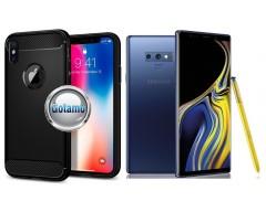 Siege dėklas nugarėlė Samsung Galaxy Note 9 mobiliesiems telefonams juodos spalvos