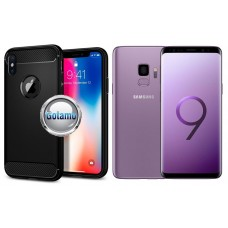 Siege dėklas nugarėlė Samsung Galaxy S9 mobiliesiems telefonams juodos spalvos Telšiai | Kaunas | Plungė
