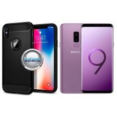 Siege dėklas nugarėlė Samsung Galaxy S9+ mobiliesiems telefonams juodos spalvos Klaipėda | Palanga | Klaipėda
