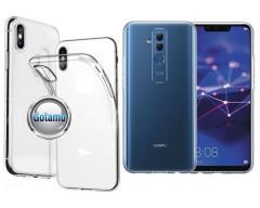 Skin silikoninis dėklas Huawei Mate 20 Lite telefonams
