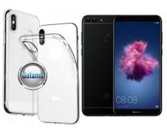 Skin silikoninis dėklas Huawei P Smart telefonams