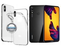 Skin silikoninis dėklas Huawei P20 Lite telefonams