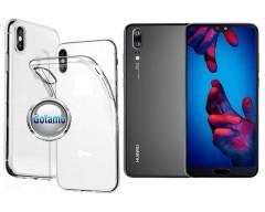 Skin silikoninis dėklas Huawei P20 telefonams