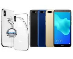 Skin silikoninis dėklas Huawei Y5 (2018) Huawei Honor 7S telefonams