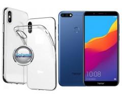 Skin silikoninis dėklas Huawei Y7 (2018) Huawei Honor 7C telefonams