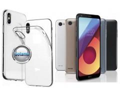 Skin silikoninis dėklas LG Q6 telefonams