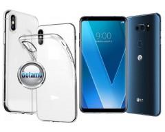 Skin silikoninis dėklas LG V30 telefonams