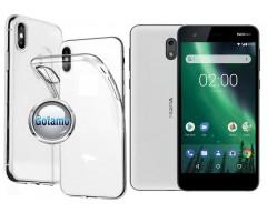 Skin silikoninis dėklas Nokia 2 telefonams