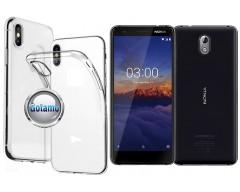 Skin silikoninis dėklas Nokia 3.1 telefonams