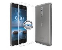 Skin silikoninis dėklas Nokia 8 telefonams
