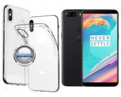 Skin silikoninis dėklas OnePlus 5T telefonams