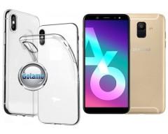 Skin silikoninis dėklas Samsung Galaxy A6 (2018) telefonams