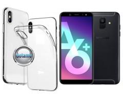 Skin silikoninis dėklas Samsung Galaxy A6+ (2018) telefonams