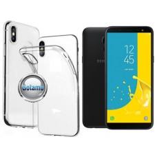 Skin silikoninis dėklas Samsung Galaxy J6 (2018) telefonams