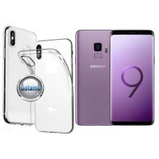 Skin silikoninis dėklas Samsung Galaxy S9 telefonams