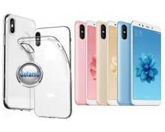 Skin silikoninis dėklas Xiaomi Mi A2, Xiaomi Mi 6X telefonams