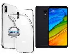 Skin silikoninis dėklas Xiaomi Redmi 5 Plus telefonams