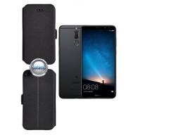 Slim Diary dėklas Huawei Mate 10 Lite telefonams juodos spalvos