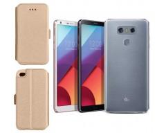 Slim Diary dėklas LG G6 mobiliesiems telefonams aukso spalvos