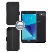 Slim Diary dėklas Samsung Galaxy J3 Prime J3 Emerge mobiliesiems telefonams juodos spalvos Palanga   Klaipėda   Klaipėda