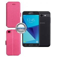 Slim Diary dėklas Samsung Galaxy J3 Prime J3 Emerge mobiliesiems telefonams rožinės spalvos Plungė | Vilnius | Plungė