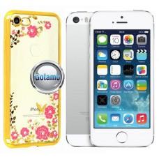 Spring dėklas nugarėlė Apple iPhone 5 5s SE telefonams aukso spalvos Klaipėda | Plungė | Vilnius