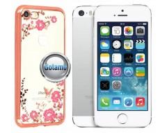 Spring dėklas nugarėlė Apple iPhone 5 5s SE telefonams rožinės spalvos