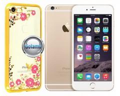Spring dėklas nugarėlė Apple iPhone 6 6s telefonams aukso spalvos