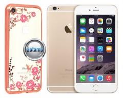 Spring dėklas nugarėlė Apple iPhone 6 6s telefonams rožinės spalvos