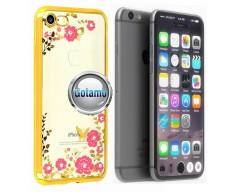 Spring dėklas nugarėlė Apple iPhone 7 8 SE (2020) telefonams aukso spalvos