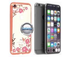 Spring dėklas nugarėlė Apple iPhone 7 8 SE (2020) telefonams rožinės spalvos