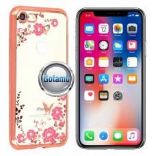 Spring dėklas nugarėlė Apple iPhone X Xs telefonams rožinės spalvos Plungė | Klaipėda | Telšiai