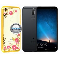 Spring dėklas nugarėlė Huawei Mate 10 Lite telefonams aukso spalvos Telšiai | Palanga | Telšiai