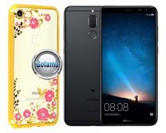 Spring dėklas nugarėlė Huawei Mate 10 Lite telefonams aukso spalvos