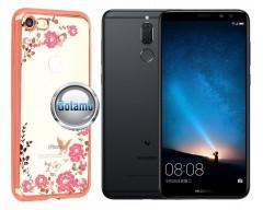 Spring dėklas nugarėlė Huawei Mate 10 Lite telefonams rožinės spalvos