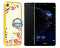 Spring dėklas nugarėlė Huawei P10 Lite telefonams aukso spalvos