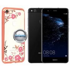 Spring dėklas nugarėlė Huawei P10 Lite telefonams rožinės spalvos Šiauliai | Telšiai | Klaipėda